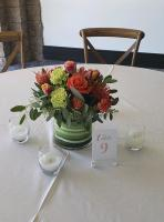 Low Table Centerpiece, Reception Flowers